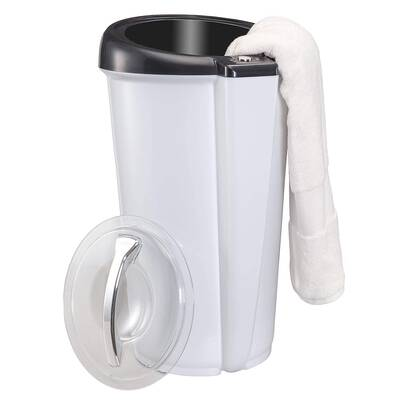 #8. Ivation Lockable Lid Large Bucket Style Removable Lid w/Carry Handle Luxury Towel Warmer