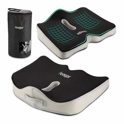 9. Feagar Seat Cushion with a Carry Bag and an Anti-Slip Bottom