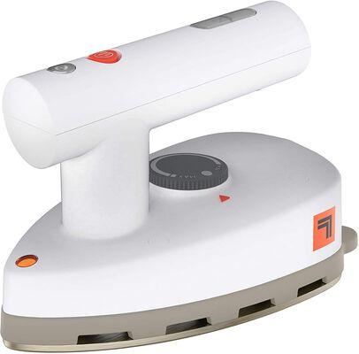 8. Sharper SI-755 Versatile Dual Voltage Quick Heat Up time Mini Steam Iron (White)