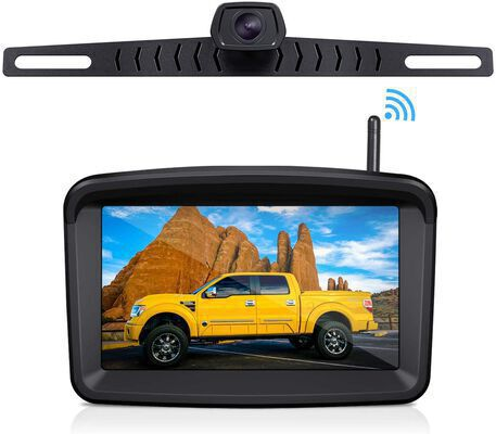 9. Xroose Night Vision 5Inch HD Monitor Stable Digital Signal IP69K Waterproof Backup Camera