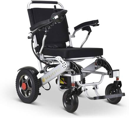 #6. United Mobility Lite Wanderer EX Extra Large Seat Electric Wheelchair
