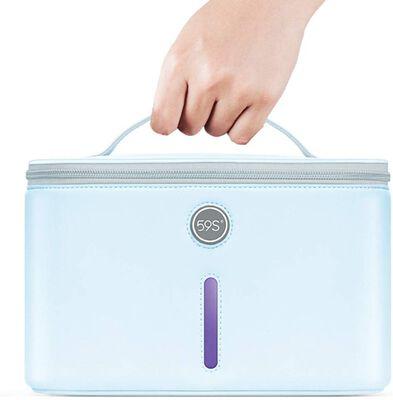 3. 59S XL UV Disinfection Box Extra-Large UV Light Sanitizer Bag w/24 UVC LEDs for Glasses & Cell