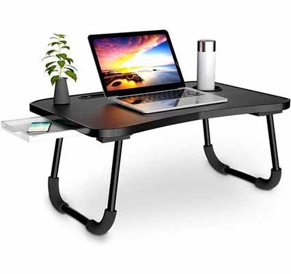 #4. Veramz Laptop Desk for Beds