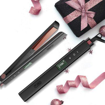 7. Tymo 1 inch Titanium Hair Straightener with up to Customized 16 Heat Settings