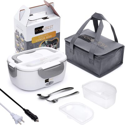 2. FORABEST Electric Food Heater with a Carry Bag