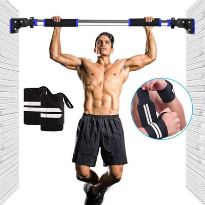 #5. Chriffer Pull Up Bar Doorway Chin Up Bar