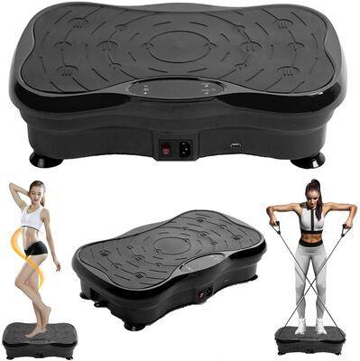 8. Brakites Vibration Platform Machines with Bluetooth Speakers (Black)
