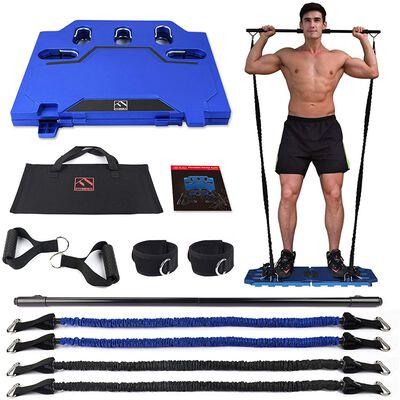 7. FITINDEX Portable Home Gym, Full-Body Fitness Tool
