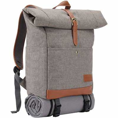 7. HappyPicnic Backpack with a Cooler Compartment