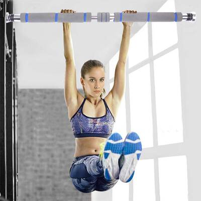 #4. NNCTA Doorway Pull Up and Chin Bar Upper Body Workout Bar