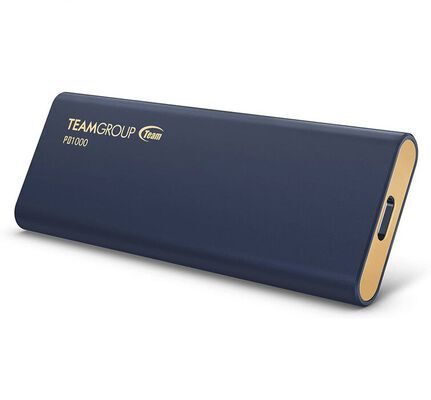 2. TEAMGROUP Portable PD1000 1TB Aluminum Waterproof IP68 External Solid State Drive