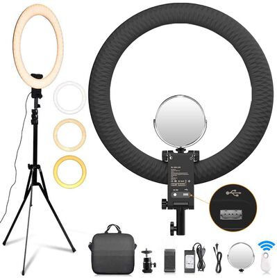 1. FOSITAN 20 inch Ring Light for Video Shooting