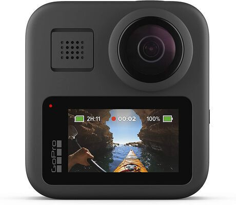 5. Amazon Renewed Waterproof WIFI Action Camera with Touch Screen for Live Streaming