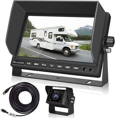 4. VECLESUS 7Inch LCD Monitor IP69K Waterproof Rating Motorhome Backup Camera for RV