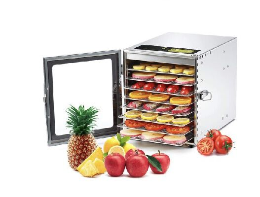 2. COLZER 8 Trays Stainless Steel Adjustable Thermostat Food Dehydrator Machine