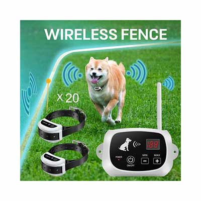 5. FOCUSER Wireless Dog Fence System for 2 Dogs