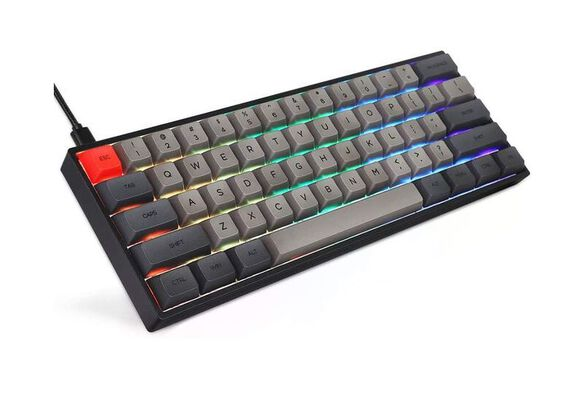 6. Epomaker Wired Hot-Swappable Water Resistant PC Gaming Keyboard with RGB Backlit