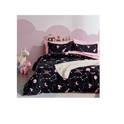 3. SLEEP ZONE Kids' Easy-Care Comforter & Sheet Sets, Twin