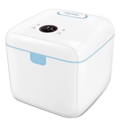 2. PAPABLIC 4-in-1 Touch Screen Control UV Sterilizer & Dryer Pro Sterilizer w/Dual UV-C Lights