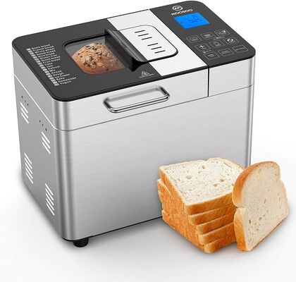 5. MOSOO M 18-in-1 Stainless Steel Homemade Function Automatic Bread Maker w/Accessory Kits