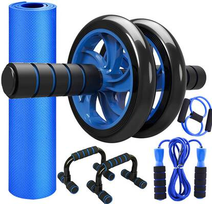 3. Sunifier Push-Up Home Gym Workout Abdominal Exercise Ab Roller Wheel for Men & Women