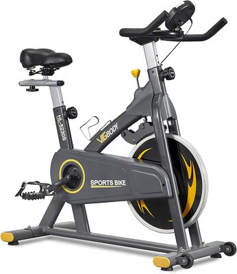 5. VIGBODY Stationary Exercise Bike with a Comfortable Seat Cushion