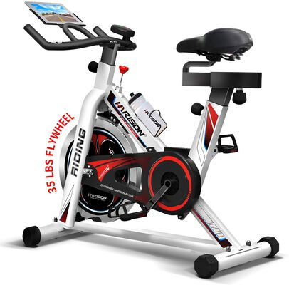 3. HARISON Indoor Exercise Bike for Home Gym
