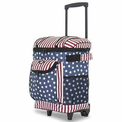 9. Travelers Club 18 Inch Insulated Rolling Cooler