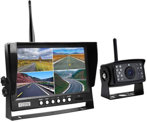 8. EVERSECU 4Inch Quad Display 1080P 9Inch Wireless Digital Car Backup Camera for SUV, RV, etc.