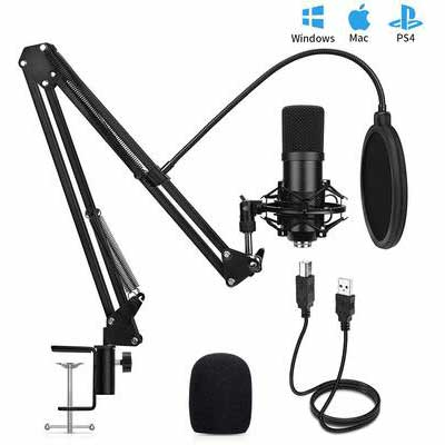 8. Travor 192 KHz/24Bit Professional Sound USB Condenser Microphone for Gaming & Recording