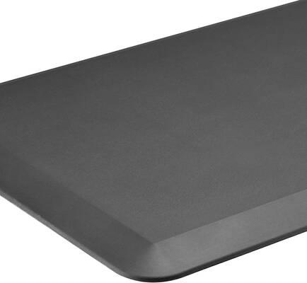 7. Vanstarry Comfort Floor Mat for Home, Office, and Garage (Gray)