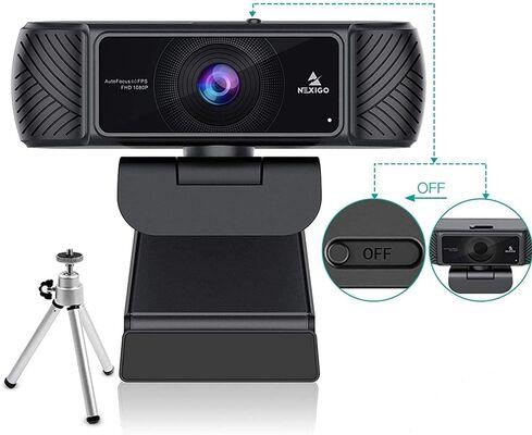 2. NexiGo Advanced Autofocus Webcam for Streaming with a Wide Angle Lens and Cover