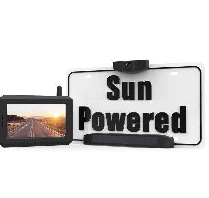 6. BOSCAM SunGo Universal Bracket Solar Wireless Backup Camera w/Rear View Camera