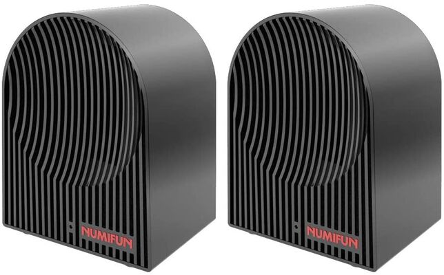 3. NUMIFUN ETL-Approved 2 Pack 500W Personal Portable Space Heater