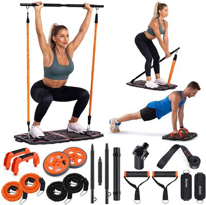 1. Gonex Home Gym Equipment- 10 Exercise Accessories