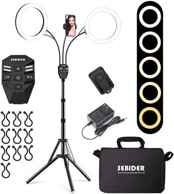9. SEBIDER LED Ring Light for Selfies/YouTube Videos/TikTok