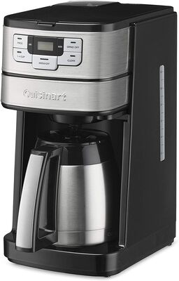 10. Cuisinart 10-Cup DGB-450 Simple Controls Fully Automatic Thermal Coffee Maker