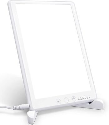 9. AMBOTHER Light Therapy Lamp, 90º Rotatable Bracket