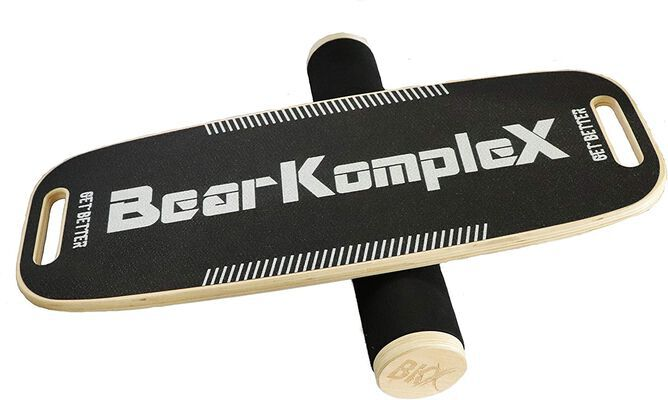 3. Bear KompleX Non-Slip Strength Core Balance Board Trainer for Men & Women