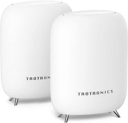 5. TAOTRONICS AC3000 Tri-Band 2-Pack 4GB Ethernet Whole Home Mesh Wi-Fi System