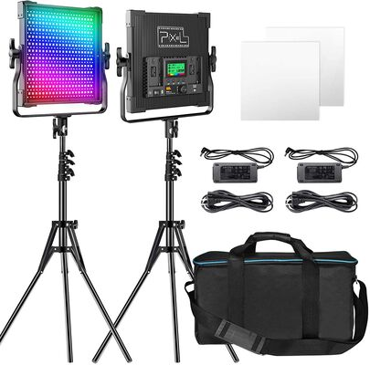 2. Pixel LED Video Lighting Kit, 9 Lighting Scenes