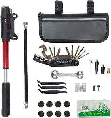 8. CHUMXINY Bike Repair Tool Kit, 16-in-1