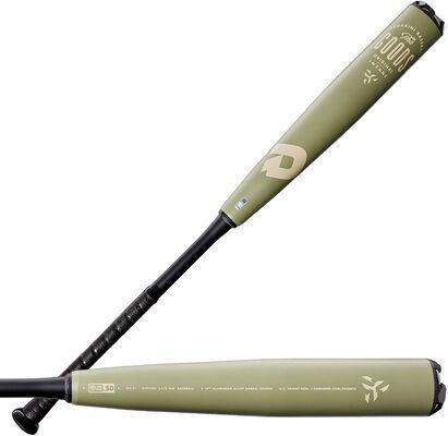 1. DeMarini X14 Alloy Barrel Direct Connection Seismic End Cap BBCOR Baseball Bat