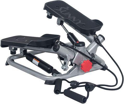 5. Sunny Health & Fitness Advanced Twist Mini Stepper Machine with Adjustable Heights