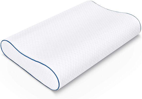 7. SORMAG Memory Foam Neck Pillow