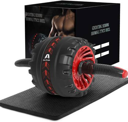 2. A.Docarple Core Workout Home Gym Exercise Equipment Abs Roller Wheel for Women & Man