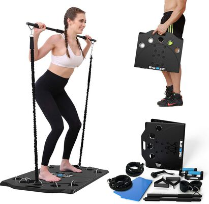 3. BARWING Portable Home Gym Workout Equipment