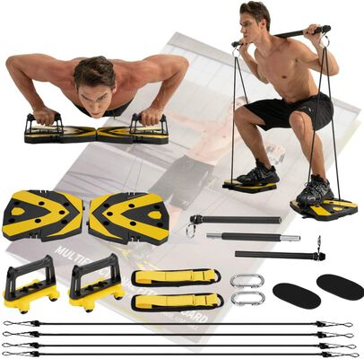 9. JEMPET Portable Home Gym Equipment for Men and Women