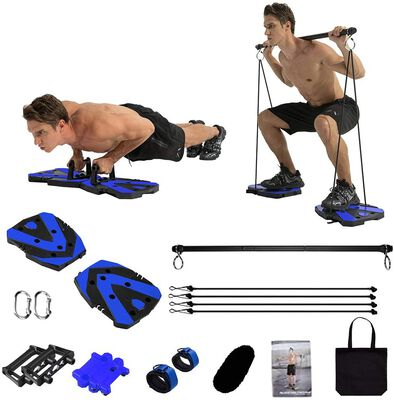 6. Rancer Portable Home Gym Equipment- 12 Exercise Accessories