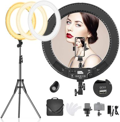 6. PIXEL 18 Inch Ring Light with a Tripod Stand